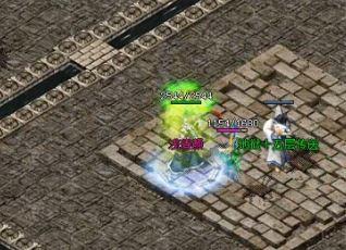 道士在与神器传说中的神龙首领战斗中最具优势